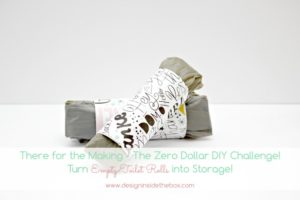 There for the Making – The Zero Dollar DIY Challenge – February Edition!