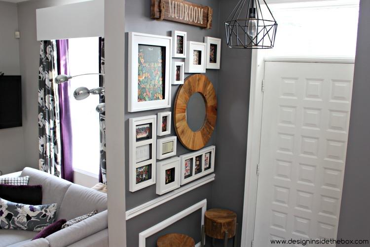 Front Entrance (aka Mudroom) Refresh! www.designinsidethebox.com
