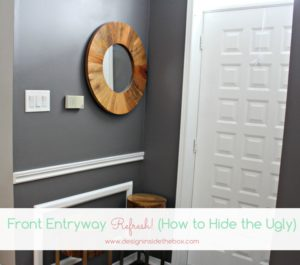Front Entrance (aka Mudroom) Makeover!
