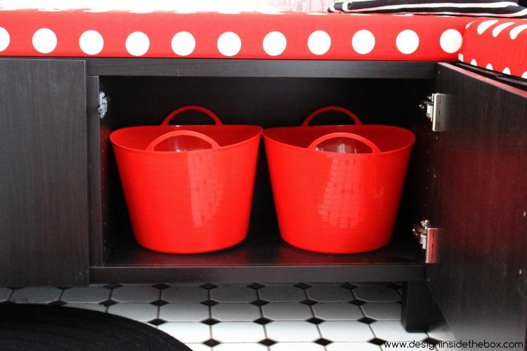 Kitchen Nook Makeover! www.designinsidethebox.com