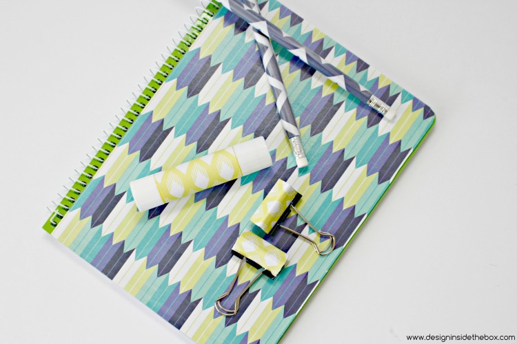 Customize your Back-to-School Supplies! www.designinsidethebox.com