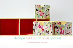 Storage Solutions for Small Spaces!