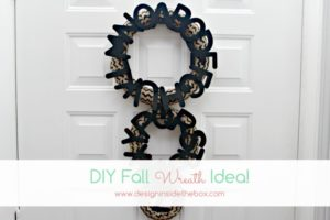 DIY Fall Wreath Idea!
