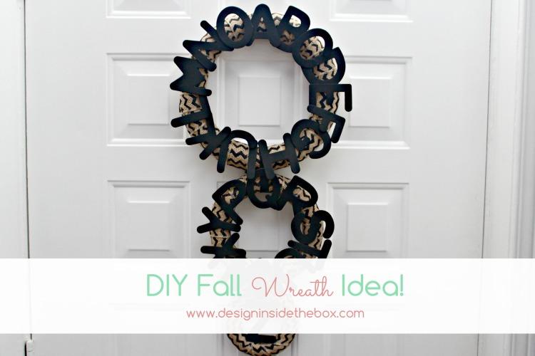 DIY Fall Wreath Idea!