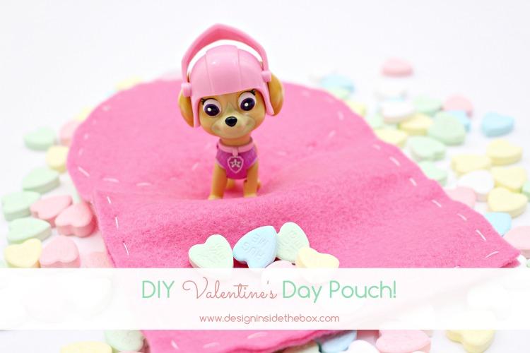 DIY Valentine's Day Pouch!