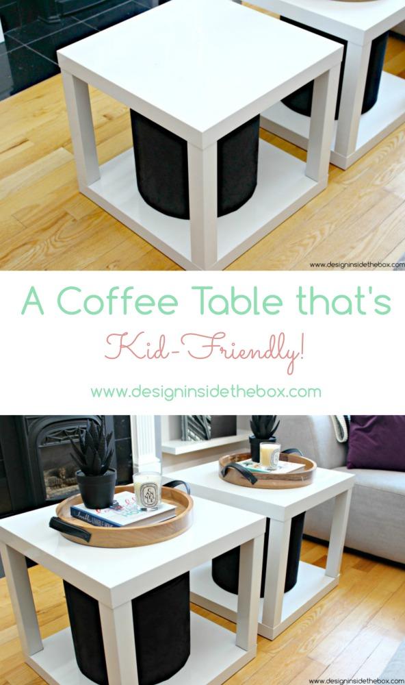 A Kid Friendly Coffee Table! Www.designinsidethebox.com